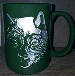 View details for this Wolf Etched Mug