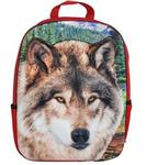 View details for this Wolf Face 3D Backpack