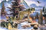 View details for this Wolf Family Christmas Card