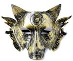 View details for this Wolf Gold Mask