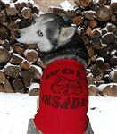View details for this Wolf Inside Dog T Shirt - M