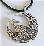 View details for this Wolf Moon Stars Necklace