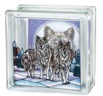 View details for this Wolf Pack Glass Block