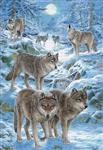 View details for this Wolf Pack Holiday Cards