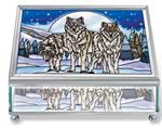 View details for this Wolf Pack Jewelry Box
