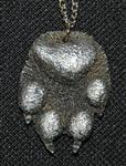 Wolf Paw Necklace