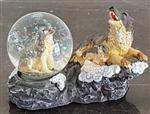 View details for this Wolf Snowglobe IV