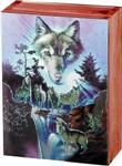 View details for this Wolf Choir Cedar Box