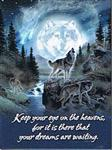 View details for this Wolf Dreams Magnet