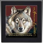 View details for this Gray Wolf Framed Trivet