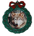 View details for this Wolf Wreath Ornament - Ohoyo