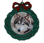 View details for this Wolf Wreath Ornament - Wa-ta-chee