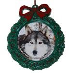 View details for this Wolf Wreath Ornament - Waya