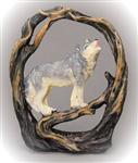 View details for this Wolf in Branches Figurine