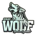View details for this Wolf Metal Auto Emblem