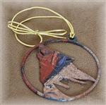 View details for this Wolf Tracks Metal Ornament