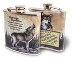 View details for this Wolf Stainless Steel Flask