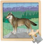 View details for this Wolf Wooden Jigsaw Puzzle
