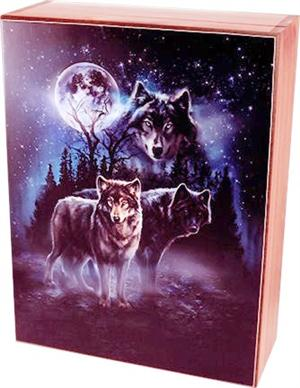 Gorgeous Wolf graphic, very popular