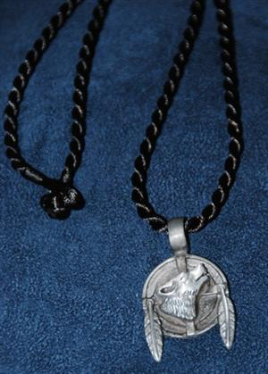 Very cool pewter pendant