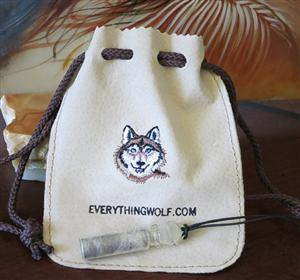 Real Wolf Fur in a bottle, comes in a keepsake bag