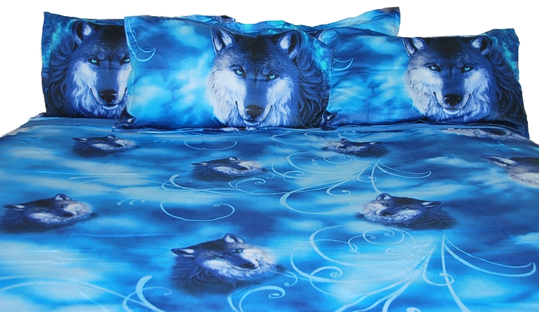 The Ultimate Wolf Bedding Set King