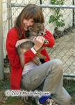 Girl falls in love with Wolf Pup pic Picture