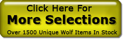 Wolf Gifts In Stock
