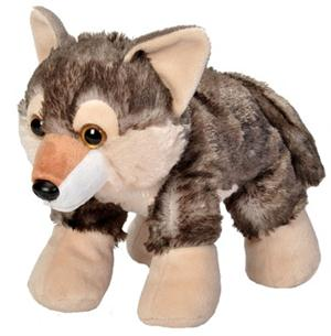 Adorable New Wolf plush that is cuddle worthy.