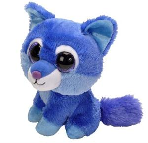 This plush Wolf smells wonderful, like yummy blueberries.