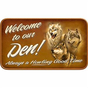 New ...Welcome to our Den always a Howling Good Time.