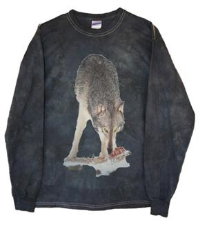 Lowest price on this long sleeve Wolf tee.