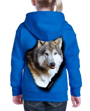 This child's Wolf Hoodie is a new product for 2019.