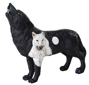 This figurine is part of the Wolf Spirit Collection.