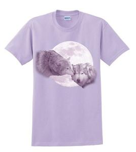 Wear this beautiful Wolf shirt, a WHAP exclusive
