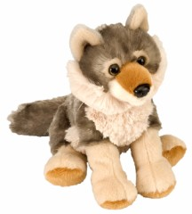 Darling Plush Wolf from the Wild Republic