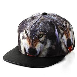 Check out this cranky wolf hat.