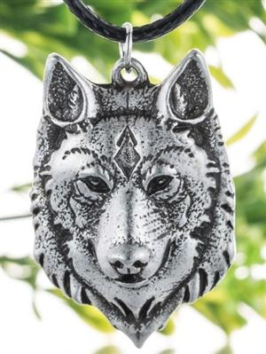 This is a WHAP favorite Wolf Necklace.