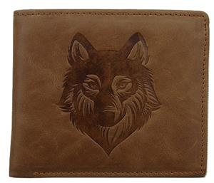 New Wolf Wallet with a beautiful graphic.
