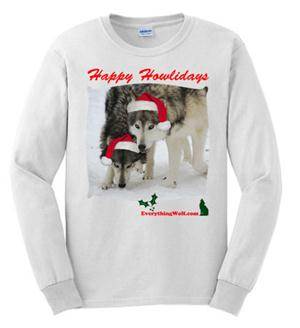 This is a whimsical Wolf design.