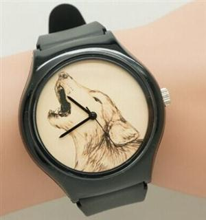 This is a fun Wolf watch for Women and Children.