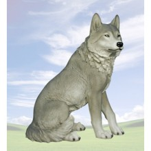 Large size Wolf Figurine is now 25% off original price.