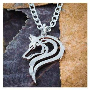 Great new Unisex Wolf Necklace!