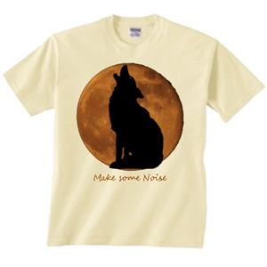 Howling cute Wolf Shirt