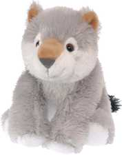 Wonderfully Soft Plush Wolf from The Wild Republic