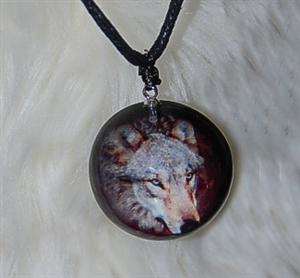 Very unique Wolf jewlery piece just reduced.