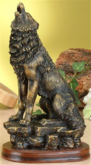 We love this new Wolf Figurine.