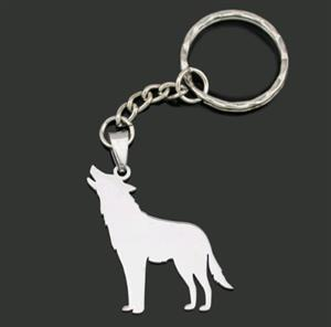 Wonderful new Wolf keychain for 2018 at a great price.