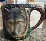 View details for this Gray Wolf Stainless Mug