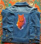 Spirit Wolf Jean Jacket JR S